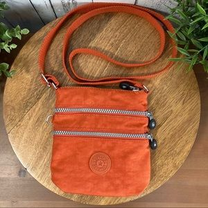 Kipling Orange Small Crossbody Bag